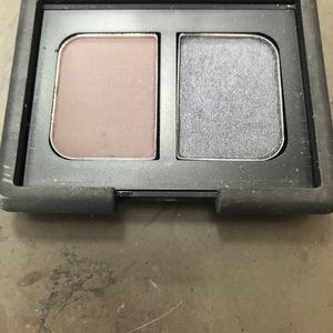 Brand new Nars eyeshadow duo (charcoal and blue)